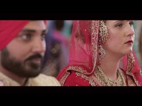 New Zealand Cinematic Sikh + White wedding | Iqubal & Kristen | Pal Productions NZ | 2016