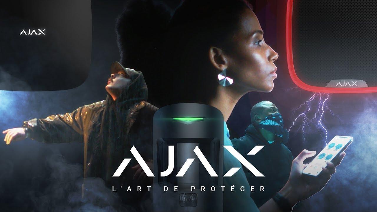 Système de sécurité Ajax : Quand la sécurité devient un art