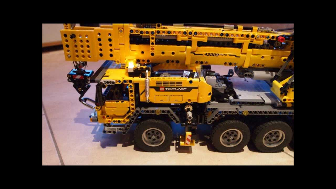 lego technic 42009 rc mit wippspitze youtube. Black Bedroom Furniture Sets. Home Design Ideas