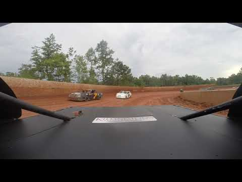 East Lincoln Speedway 7-13-19 Stock 4 Rear Cam Hot Laps Alexus Motes