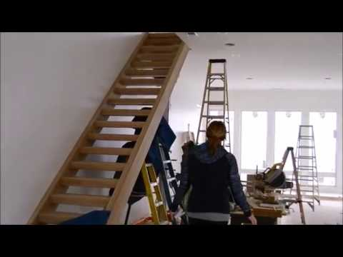 Top Tread Stairways   Custom Open Riser Stair Installation