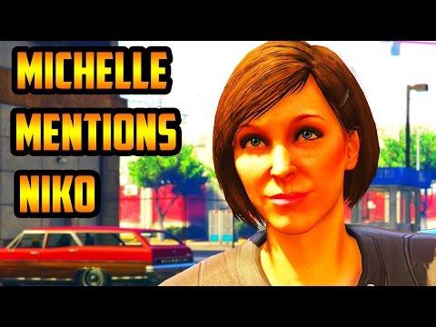 GTA 5: Michelle Mentions Niko (GTA Online Heists)