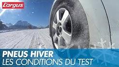 Test de pneus hiver 2019 : comment nous les évaluons ?