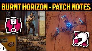 Patch Notes - Mozzie & Gridlock - Burnt Horizon - 6News - Rainbow Six Siege