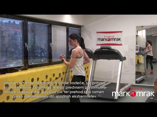 One hand rowing - Enoročni priteg z zasukom