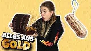 Ich teste 7 Gegenstände aus echtem GOLD  😵 | Bibi