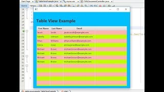 Tableview Javafx Tutorial Javafx Tableview Database - YT