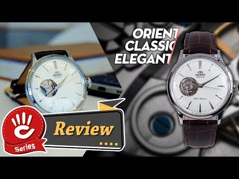 Review đồng hồ Orient nam Classic Elegant Automatic dây da Open Heart | #OrientReviews