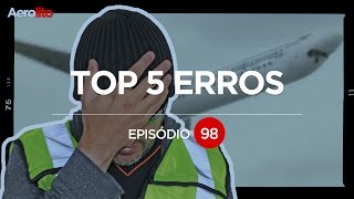 TOP 5 ERROS DE AVIAÇÃO NO CINEMA EP #98