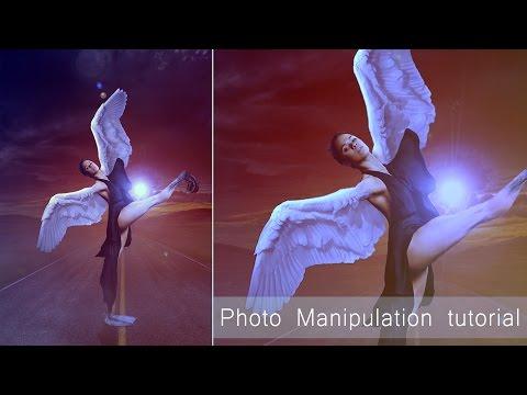 Concept Art Tutorial | Photoshop Photo Manipulation |Horizon light Effect