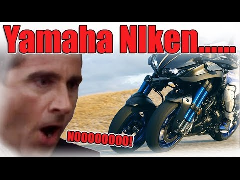 Yamaha Niken 2017 Three wheeled motorcycle!