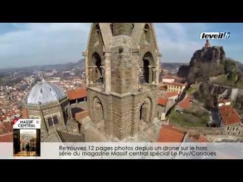 Drone : des images exceptionnelles de la cathédrale du Puy