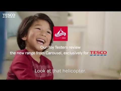Carousel   Tesco Toy Testers