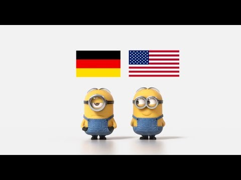 German cars vs American cars Minions Style