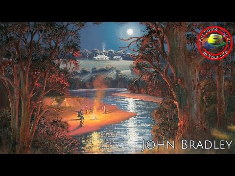 Fine art tips on How to Paint Oil Landscapes with John Bradley on Colour In Your Life