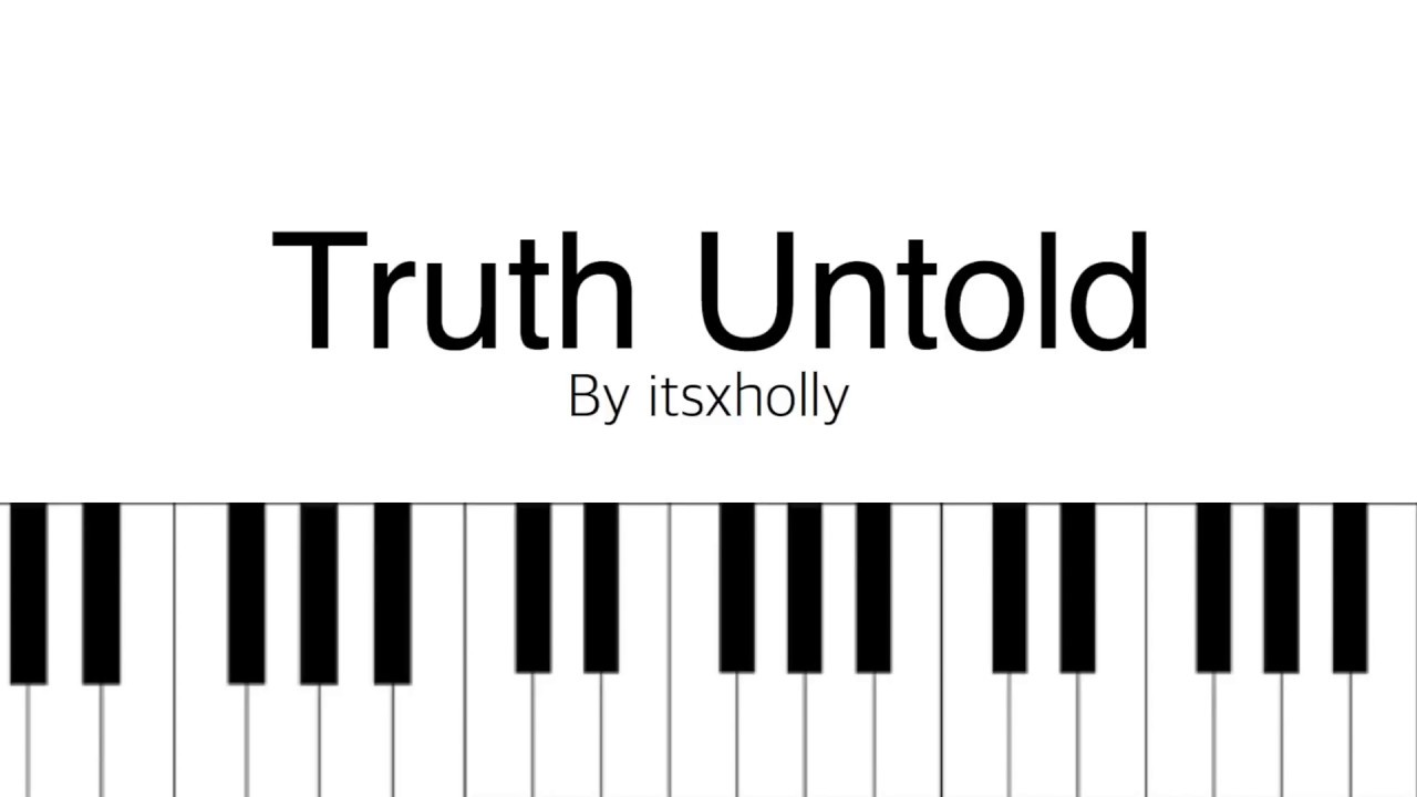 THE TRUTH UNTOLD // BTS (feat. Steve Aoki) // Piano