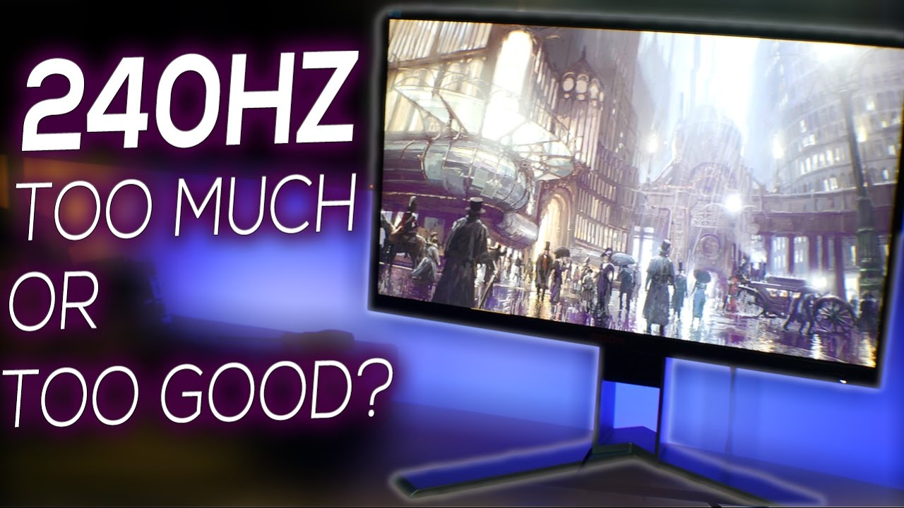 Is 240Hz Refresh Rate TOO MUCH?   AOC AGON AG251FZ Review