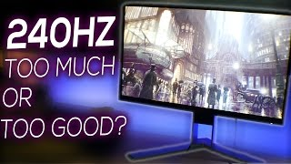 Is 240Hz Refresh Rate TOO MUCH? | AOC AGON AG251FZ Review