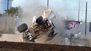 The Best Dirt Track Crashes!! (#1)