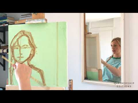 How to Paint a Portrait with Christabel Blackburn, Part 1 | Partnership Editions