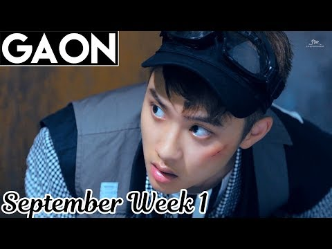 [TOP 100] Gaon Kpop Chart 2017 [Sep Week 1]
