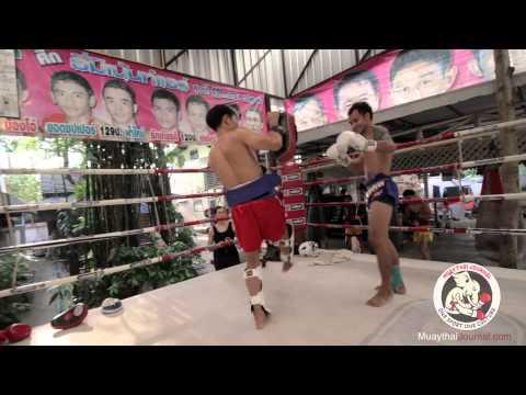 Muaythai Journal Padwork: Neungthep Sagami