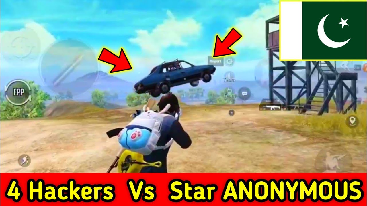 Four ( 4  Hackers ) Vs Star ANONYMOUS / Pubg Mobile