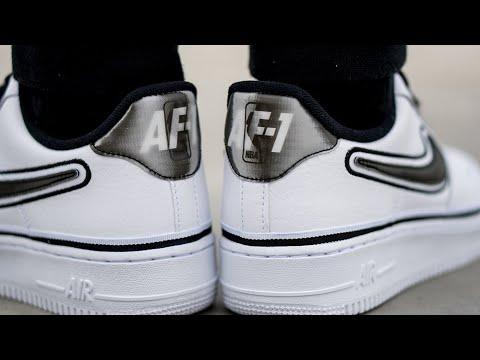 Onfeet: Nike Air Force 1 White NBA | Grailify