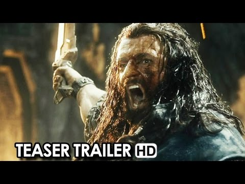 The Hobbit: The Battle of the Five Armies - Official Teaser Trailer (2014) HD