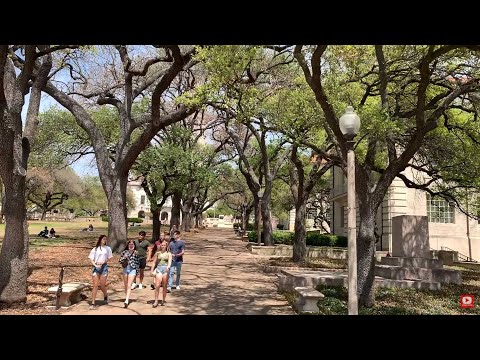 Walkaround The University of Texas Austin Texas USA