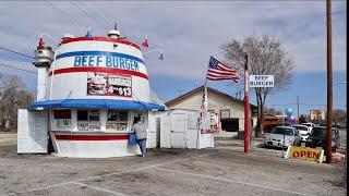 My New Favorite Spots In Amarillo Texas - Beef Burger Barrel / KN Root Beer / Slug Bug Ranch & MORE
