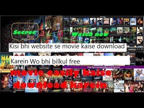 3 secret websites to download & watch hd movies for free no.