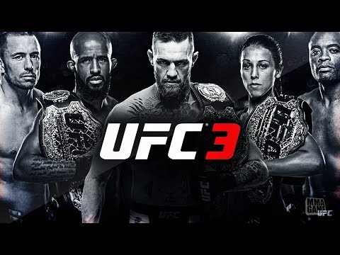 EA Spots UFC 3 Fighter Roster so far!