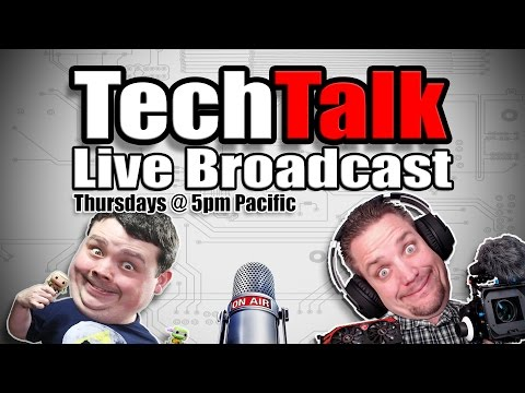 Tech Talk #97 - Once again we got nothing! Help us talk about stuff!