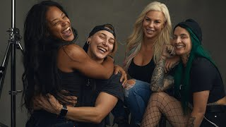 WWE Superstars remove their makeup for a candid conversation