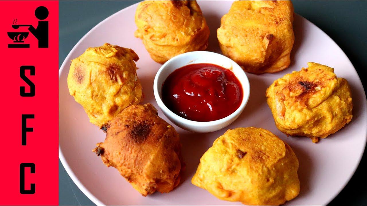 Bread Bonda Recipe | Bread Masala Bonda | Evening Snack ...