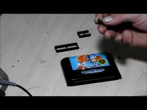 Sega Eprom Burn - Part 1 - Sonic and Knuckles - Arcade JAMMA