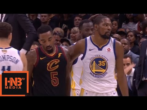 45ded53efc65 JR Smith gets technical foul   Cavaliers vs Warriors Game 4 - YouTube