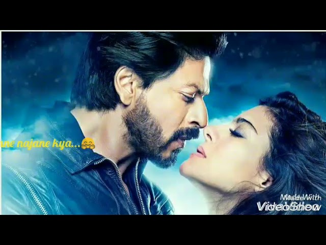 Whatsapp status romantic song srk and Kajol Tum pas aaye