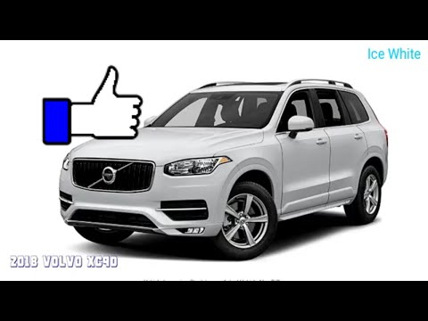 2018 Volvo XC90  Picture Colors Options