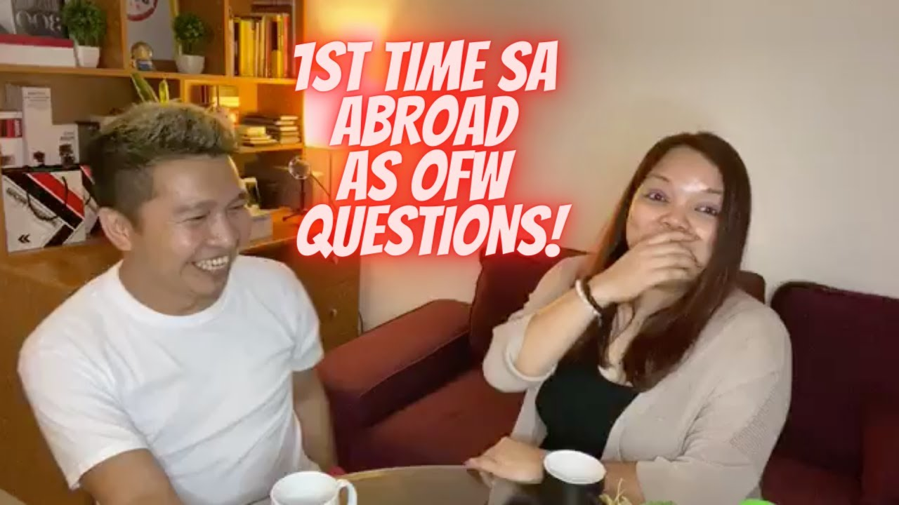 1ST TIME SA ABROAD AS OFW QUESTIONS - Buhay sa Dubai Live!