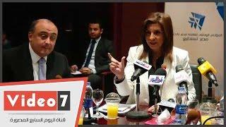 بالفيديو.. وزيرة الهجرة: الرئيس السيسي كلفنا بالتواصل مع العلماء المصريين بالخارج