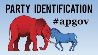 Party Identification - AP US Government and Politics - @TomRichey #apgov