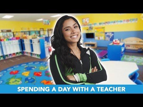 I Spent A Day With A Preschool Teacher