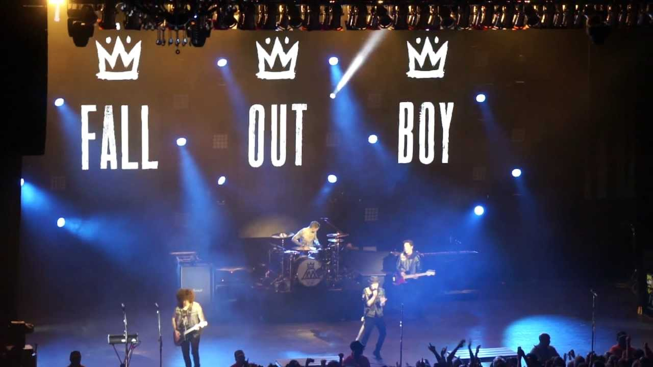 Fall Out Boy Wallpaper Desktop I Don T Care Fall Out Boy Live In Concert Miami 2013 Youtube