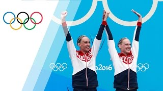 Russian pair wins Synchronised Swimming Duets gold
