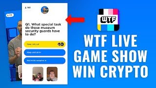 How to Play WTF Live Game Show App (Win Crypto Prizes)