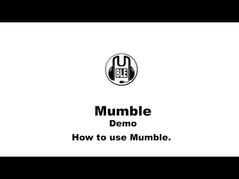 How To Use Mumble