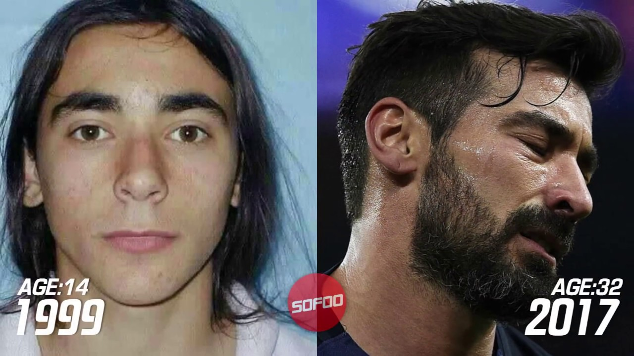 Ezequiel Lavezzi Transformation Before And After Body & Hairstyle