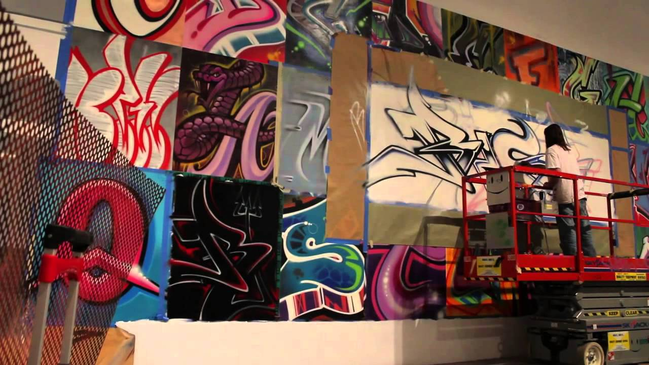 RISK x FLAUNT - MOCA - Art in the Streets - 1 Year Anniversary